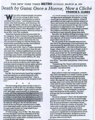 Newspaper article 1